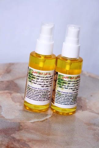 شراء Huile d'Amande douce 100% pure زيت اللوز الحلو Sweet almond oil