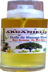 Huile de bain a l'huile d'argan Bio