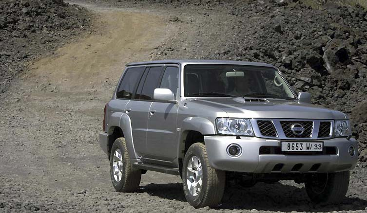 طلب Location de 4x4 Nissan Patrol